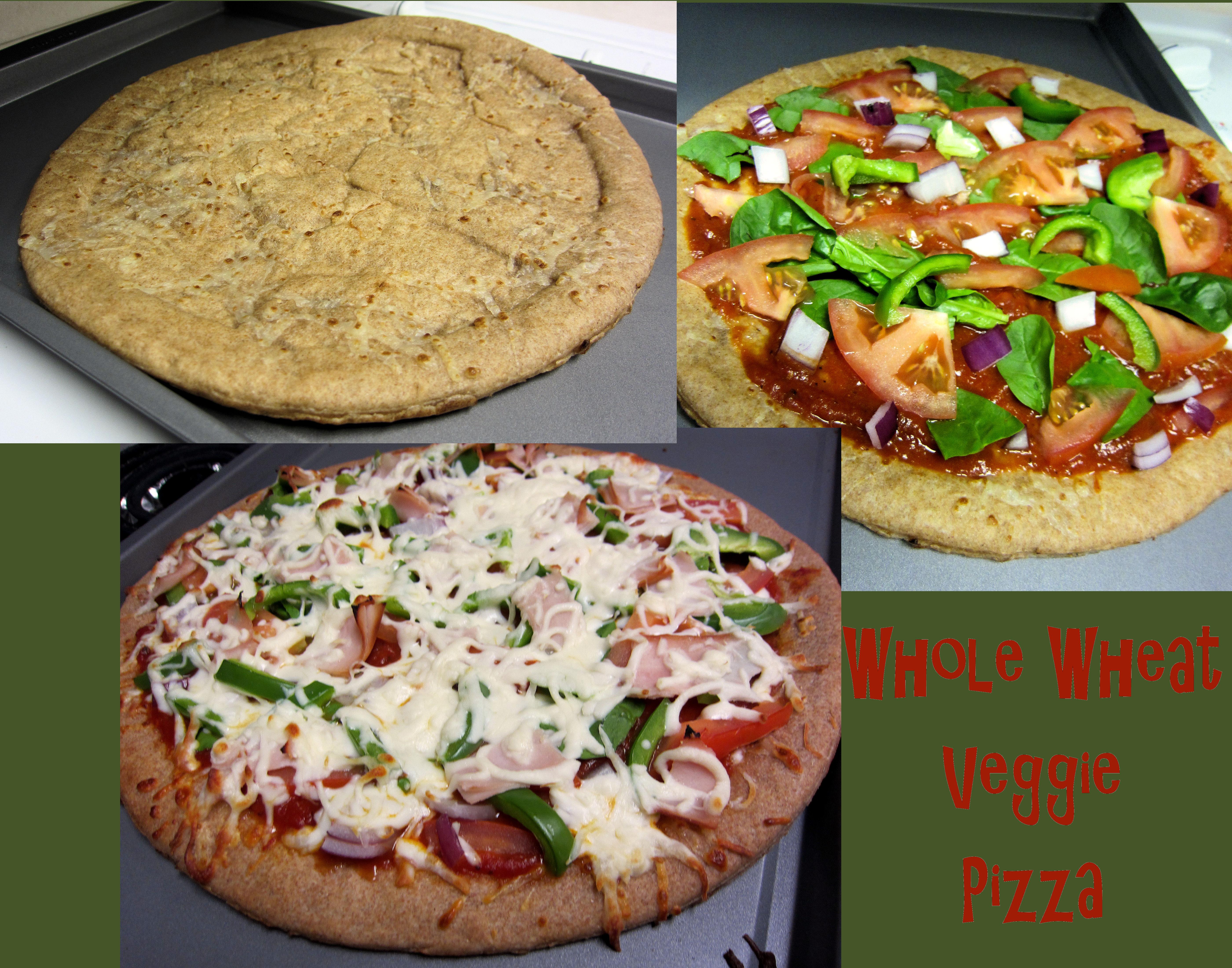 Whole Wheat Veggie Pizza | Strong Like My Coffee