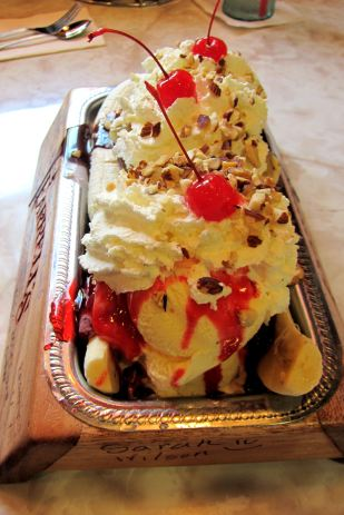 Banana Split Farrell's Trough