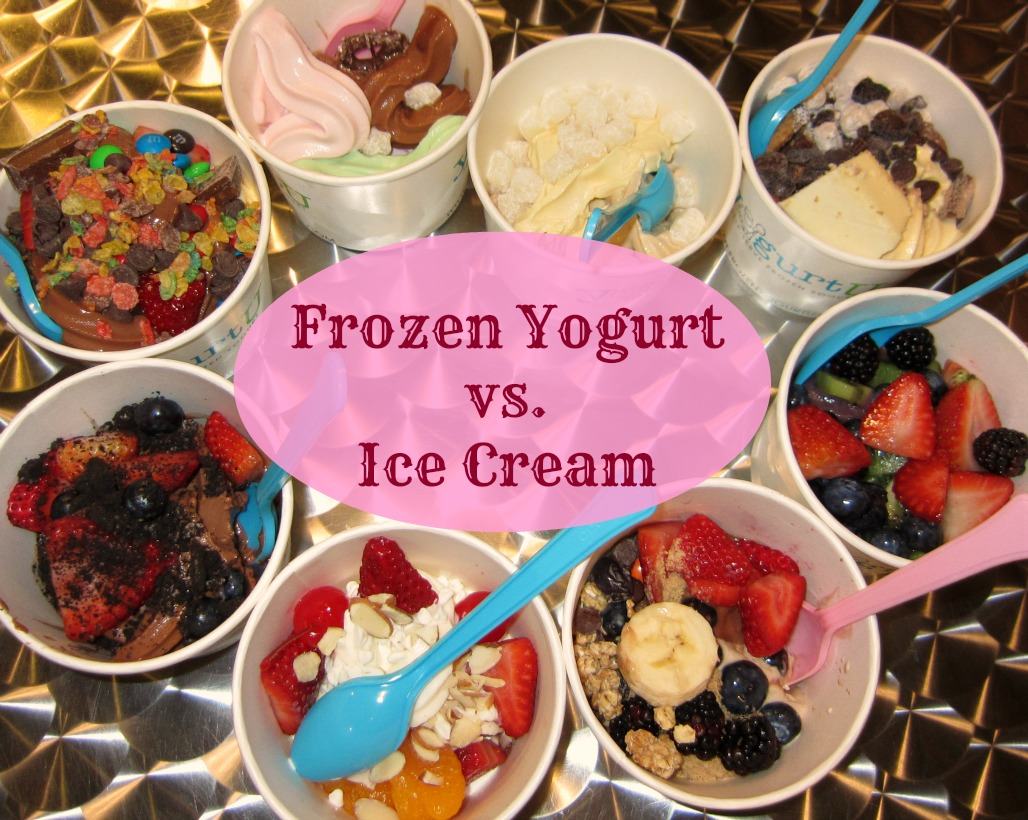 Frozen yogurt vs ice cream strong like my coffee since ice cream is made with heavy cream its unavoidably a fattening dessert theres really no getting around it although most companies are making ccuart Image collections