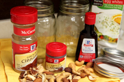 how to make nut spices