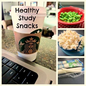 Healthy Study Snack List from stronglikemycoffee.com