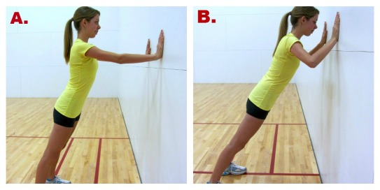 Image result for Wall Push-Ups