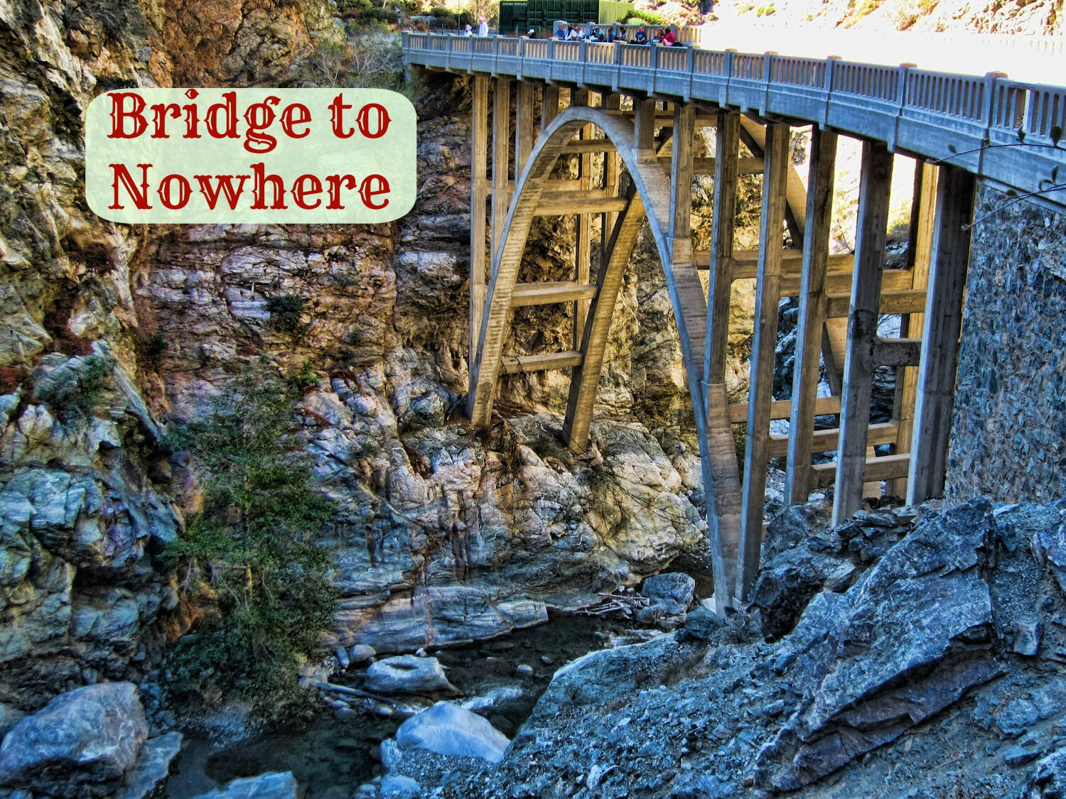 Bridge To Nowhere Leads To Emergency Room Strong Like