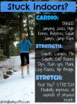 Stuck Indoors? Fitness Alternatives from stronglikemycoffee.com