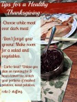 Tips for a Healthy Thanksgiving from stronglikemycoffee.com