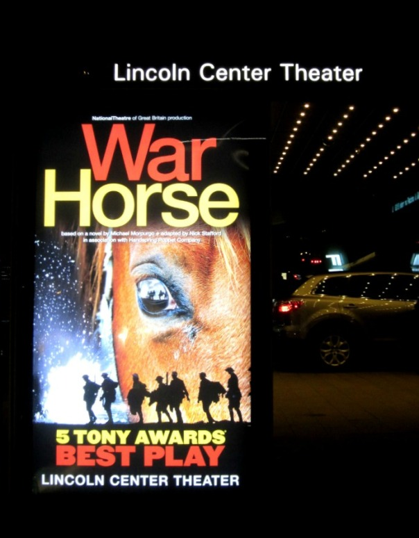 War Horse at Lincoln Center (stronglikemycoffee.com)