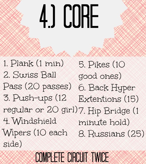 Birthday Workout Part 4 (stronglikemycoffee.com)