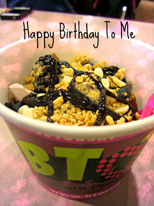 Birthday Yogurt