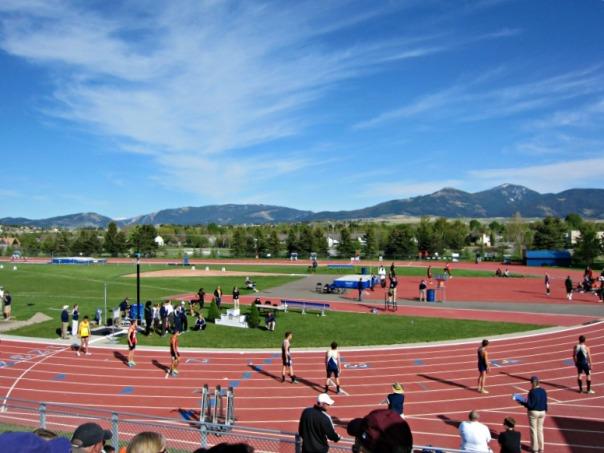Bozeman, Montana Track Meet 2012