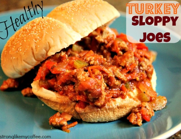 Healthy Turkey Sloppy Joe Recipes from Stronglikemycoffee.com