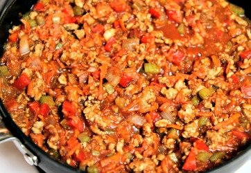 Healthy Turkey Sloppy Joe Filling from stronglikemycoffee.com