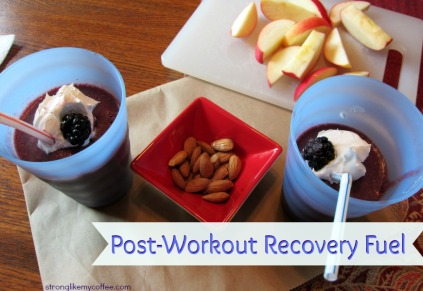 Post Workout Recovery Fuel from stronglikemycoffee.com