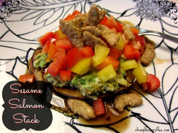 Sesame Salmon Stack