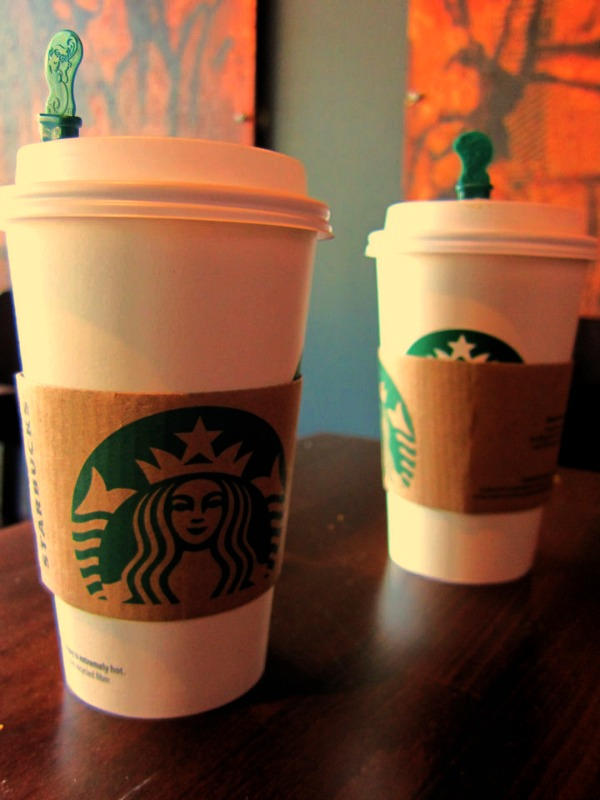 Two Starbucks