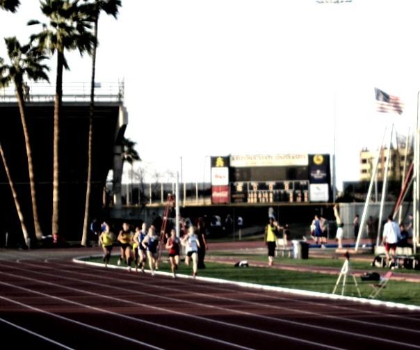 1500 meter race