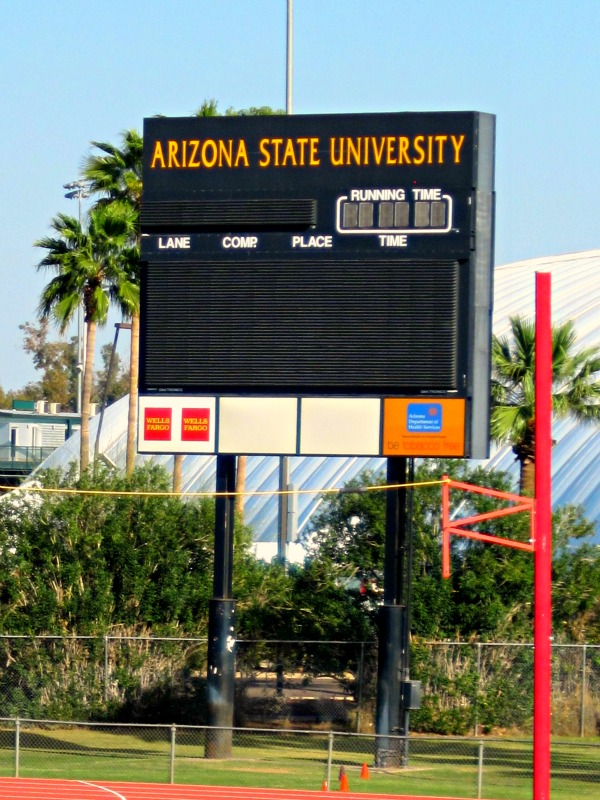 Arizona State track meet