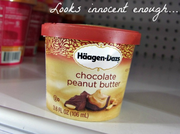 Healthy Grocery Swaps - haagen dazs vs greek yogurt (stronglikemycoffee.com)