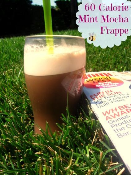 60 Calorie Mint Mocha Frappe (stronglikemycoffee.com)