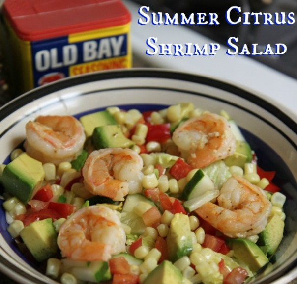 Summer Citrus Shrimp Salad Clean Eating Recipe (stronglikemycoffee.com)