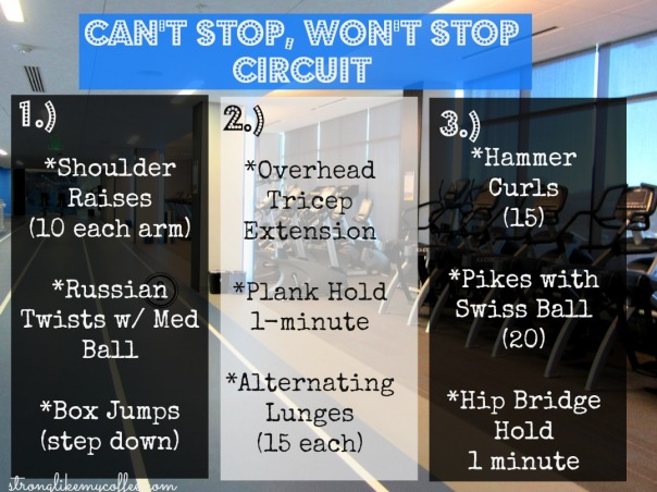 Cant Stop, Wont Stop Circuit from Stronglikemycoffee.com