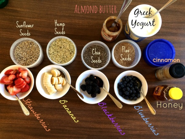 Healthy Breakfast Parfait Bar