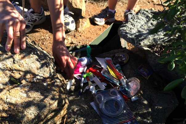 San Diego Hike geo-caching