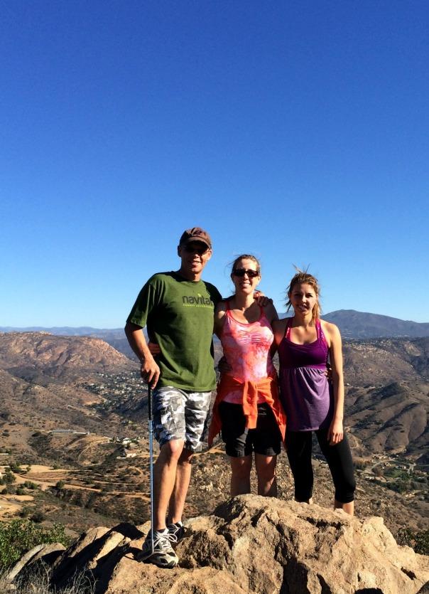 San Diego Hike peak
