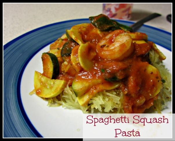 Spaghetti Squash Pasta (stronglikemycoffee.com)