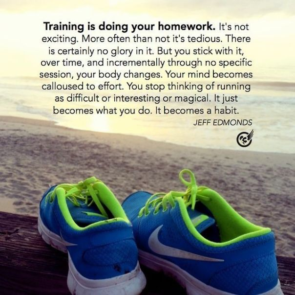 Training is a lifestyle quote