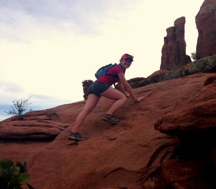 A sedona climb kerr