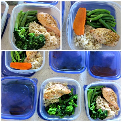 Meal Prep clean eating dinners for a week (stronglikemycoffee.com)