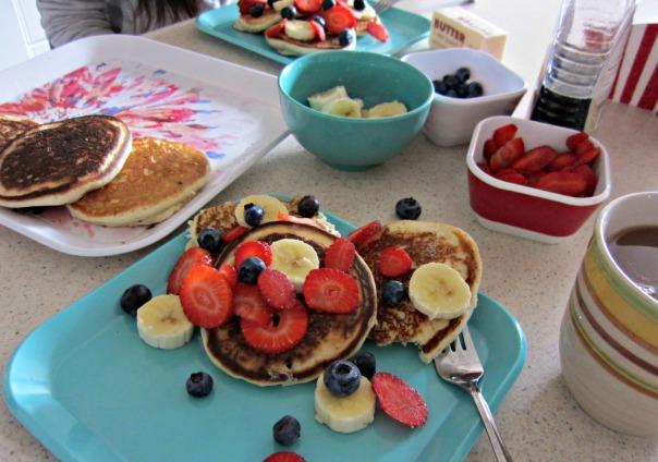 Whole Wheat Blueberry Pancakes brunch (stronglikemycoffee.com)