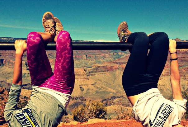 Grand Canyon Just Hanging Out *stronglikemycoffee.com