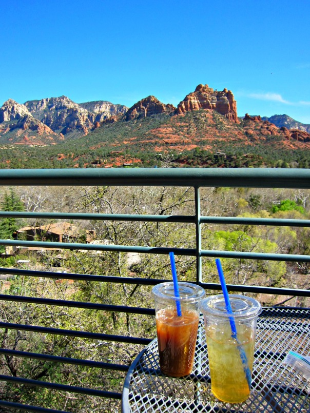 Mom wknd Iced Beverages in Sedona (stronglikemycoffee.com)