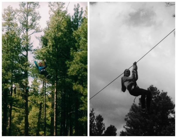 Zip Line at Flagstaff Extreme Adventure Course (Stronglikemycoffee.com)