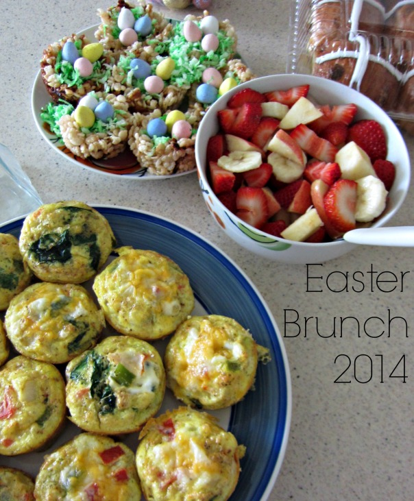 Easter Brunch spread // stronglikemycoffee.com