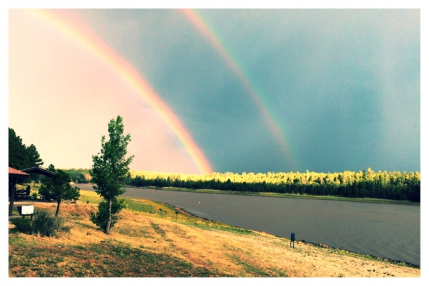 Monsoon Season Double Rainbow // Stronglikemycoffee.com