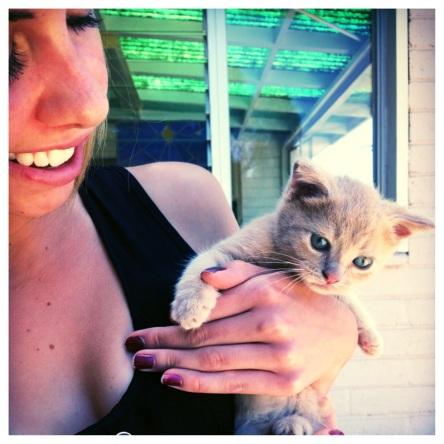 Kenzie and Kitten (stronglikemycoffee.com)