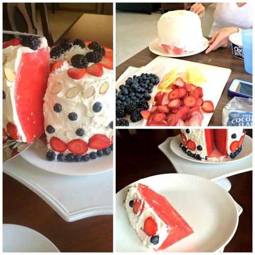 Pinterest Win Watermelon Cake Summer Dessert  Stronglikemycoffee.com