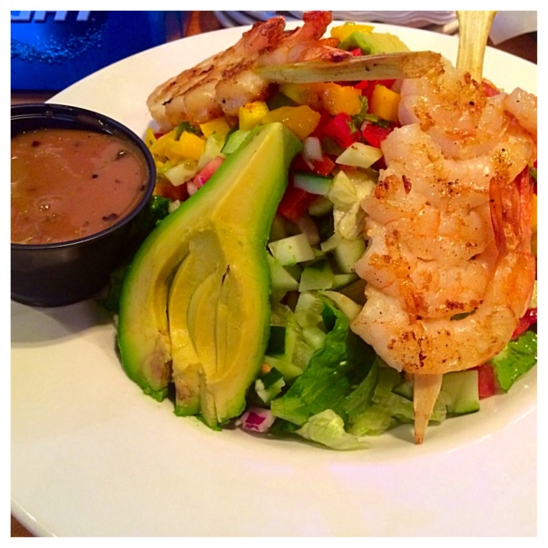 Shrimp Salad from TK Bar (Stronglikemycoffee.com)