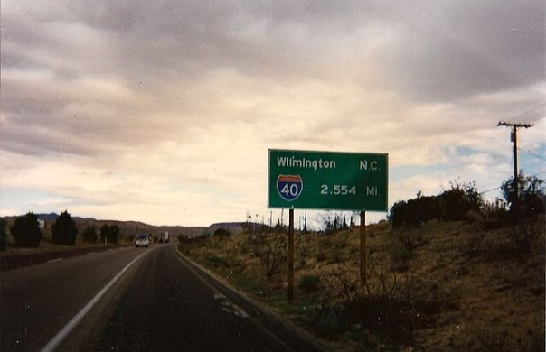 I-40 California to Carolina