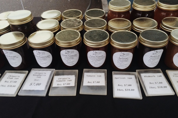 Farmer's Market jams and jellies (stronglikemycoffee.com)