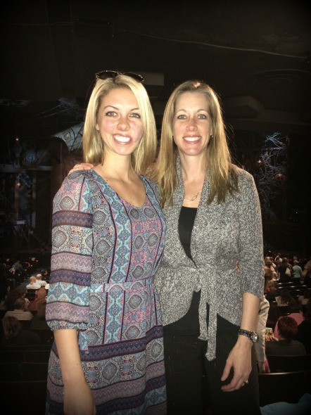 Mom and I at Wicked