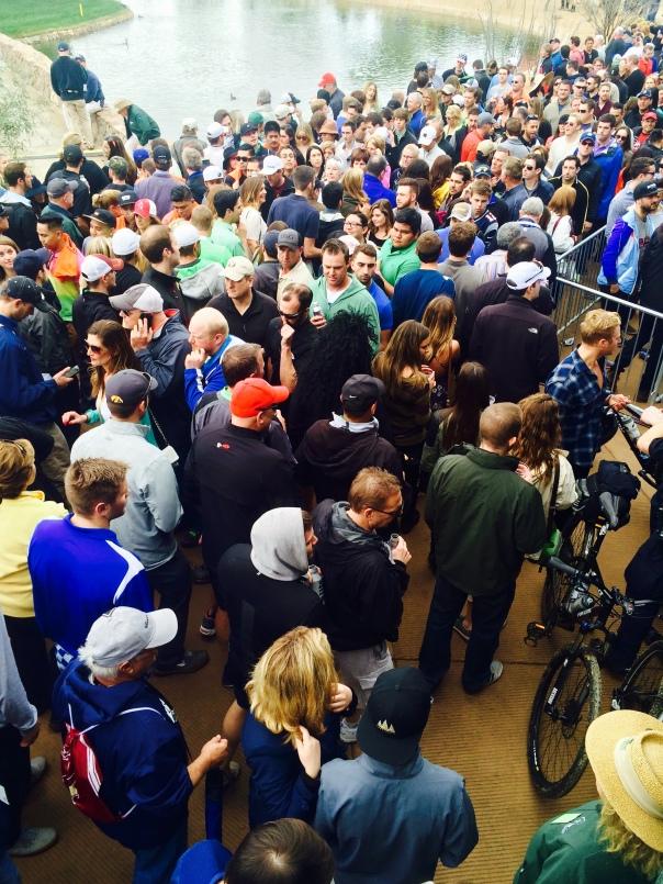 Crowds at Phoenix Open (stronglikemycoffee.com)