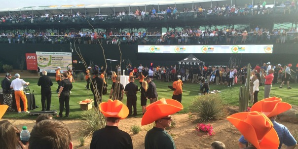 Phoenix Open Gold Hole 16 (stronglikemycoffee.com)