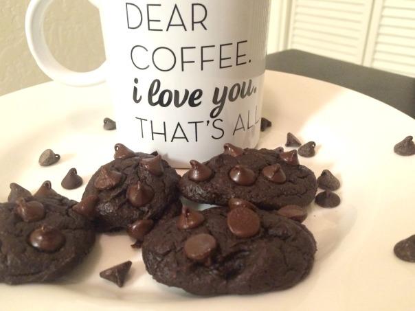 Chocolate Avocado Cookies (stronglikemycoffee.com)