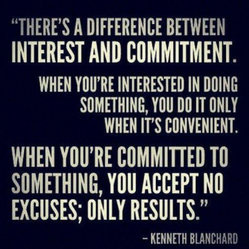 Commitment Quote
