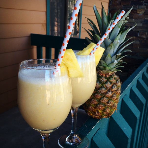 Virgin Pina Colada Breakfast Smoothie (Stronglikemycoffee.com)