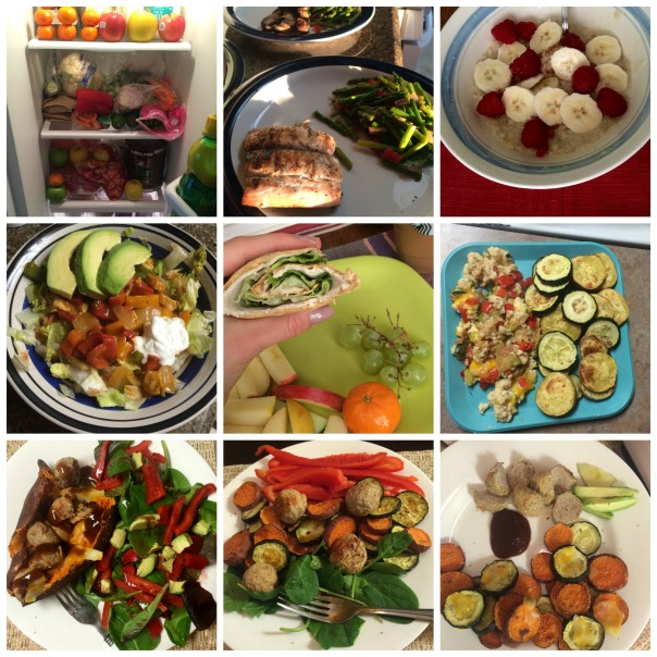 Healthy Food Collage on Strong Like My Coffee (Stronglikemycoffee.com)