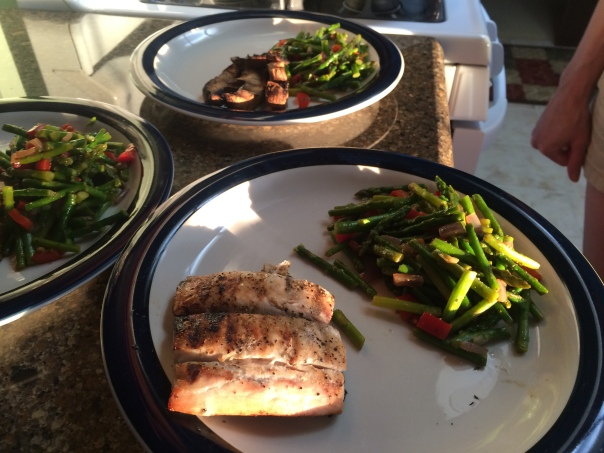 Grilling Lean and Greens | Stronglikemycoffee.com